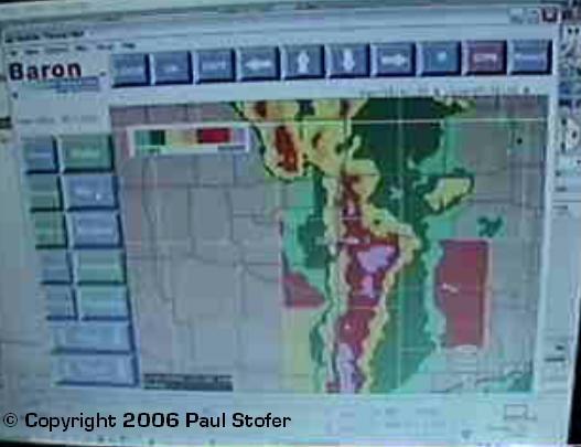Radar Video Grab