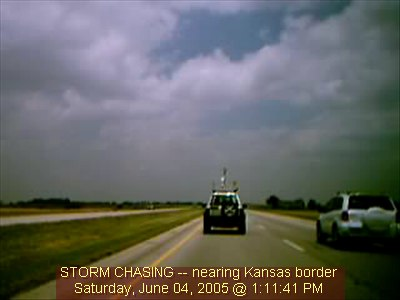Chase Vehicle 2 Webcam In Kansas