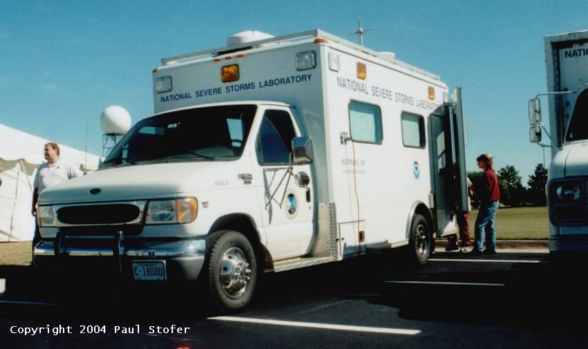 NSSL 6 Mobile Research Vehicle
