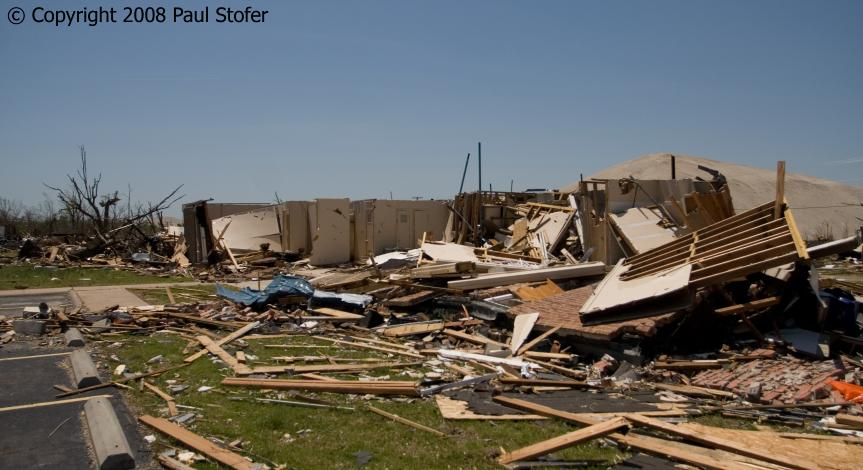 Picher, Oklahoma Tornado Damage