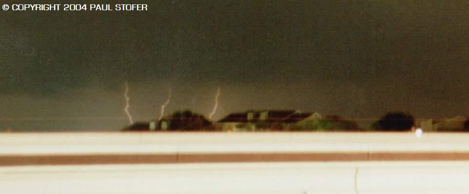 Nightime Lightning Storm in the Metroplex
