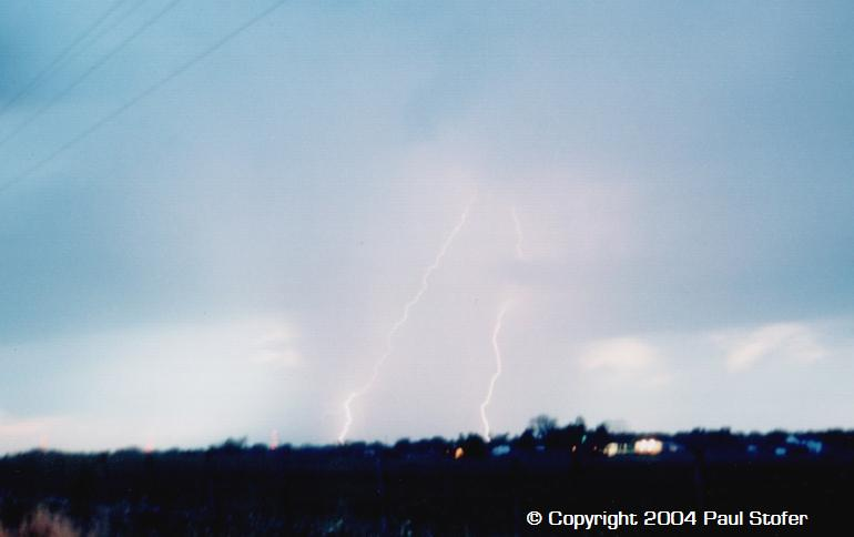 Lightning Show After the Chase