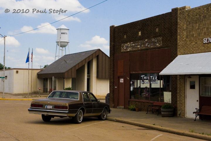Twister Museum in Wakita, Oklahoma