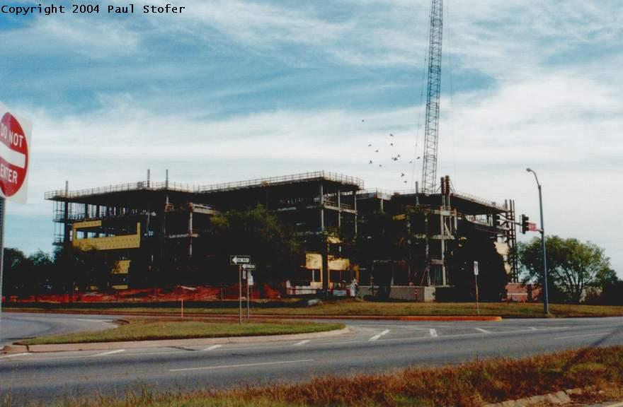National Weather Center building progression