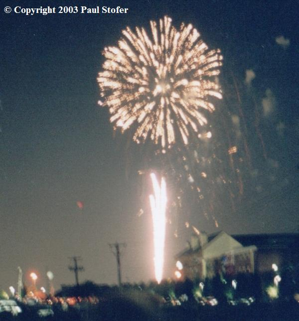 Addison Kaboom Town Fireworks Display!
