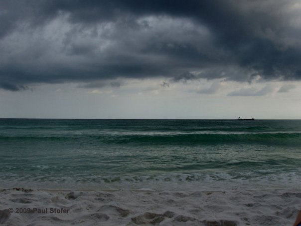 Storms pushing on shore - Fort Walton Beach, Florida