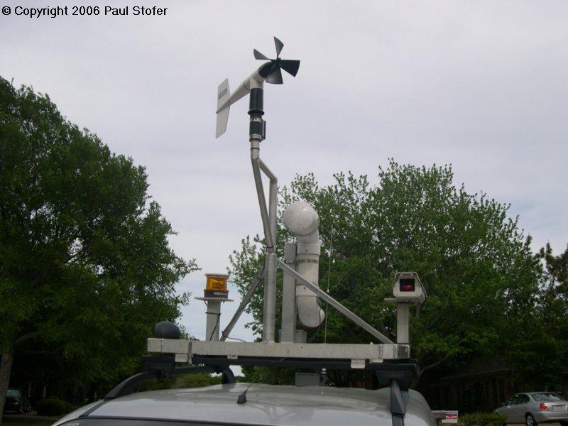 Mobile Mesonet Weather Equipment