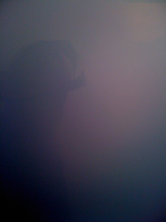 What it looks like inside a house fire