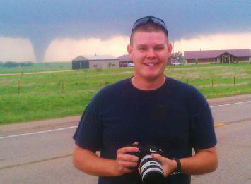 Myself in Front of two tornadoes