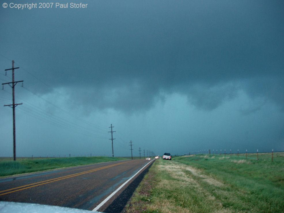 Canadian, Texas hail and rain core