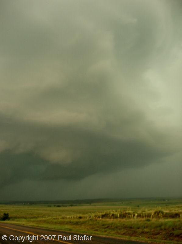 Canadian, Texas storm structure and vault