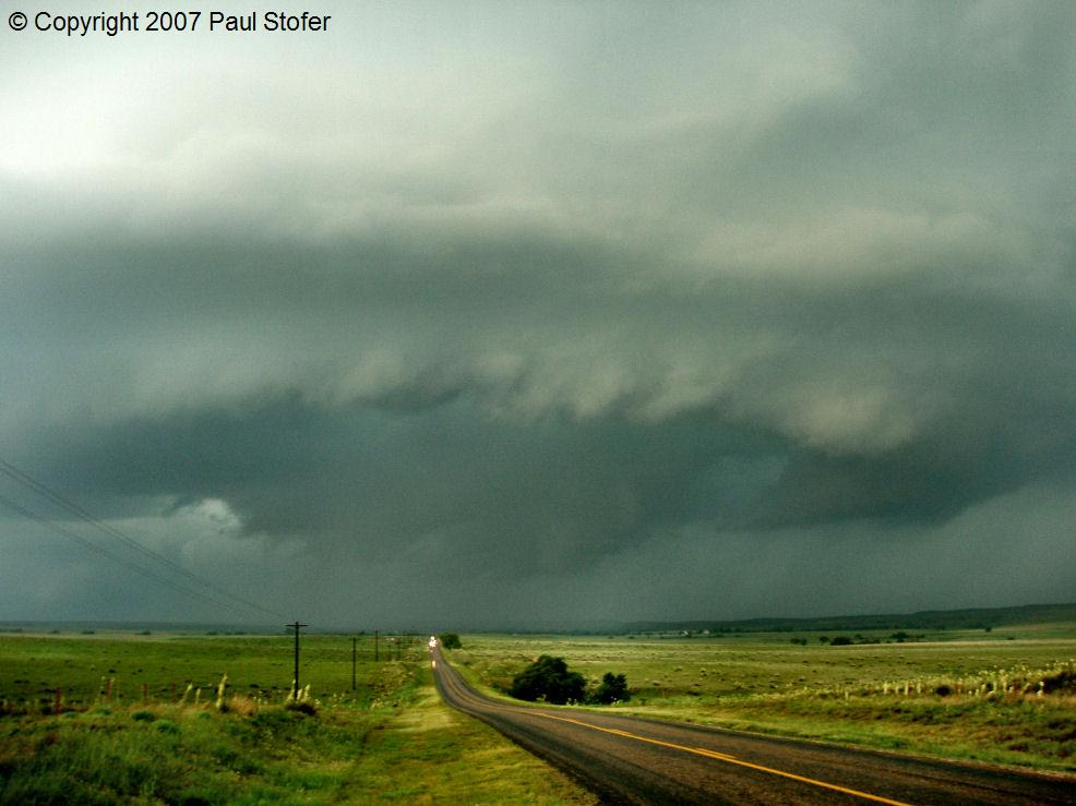 Canadian, Texas storm structure