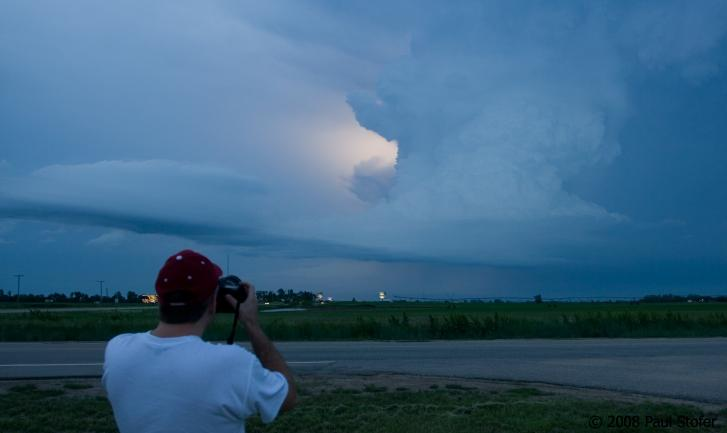 Dave Fick and Structure outside Hastings, Nebraska