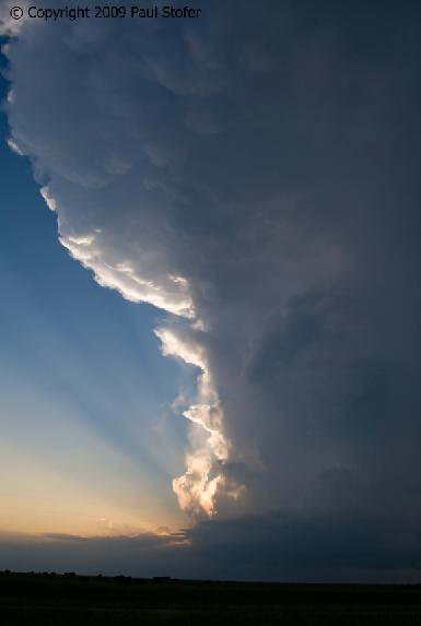 Storm Updraft outside Bartlesville, Oklahoma