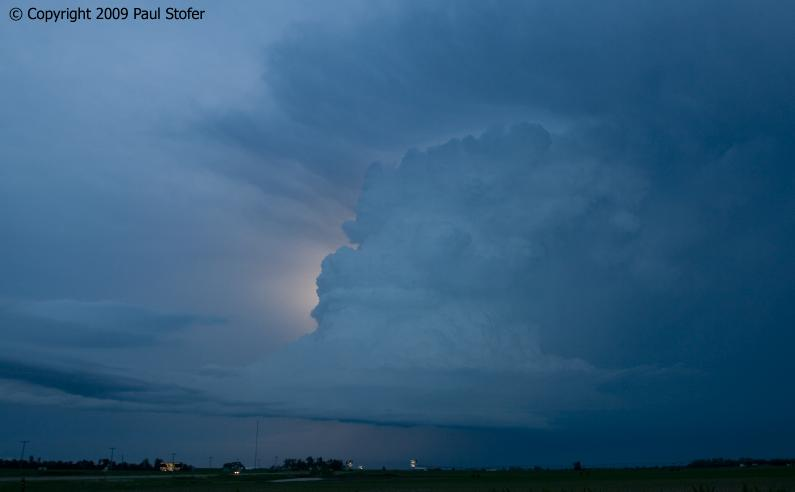 Hastings, Nebraska Storm Structure