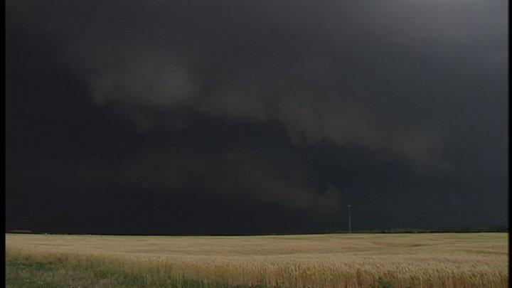 Shelf Cloud in Hill County