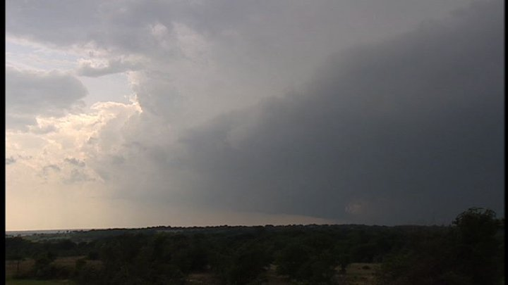 Hill County Wall Cloud