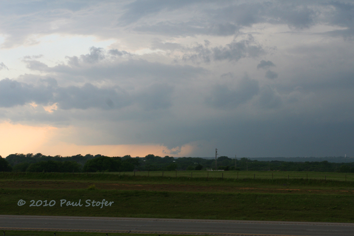 Storm Structure in Oklahoma - Guthrie