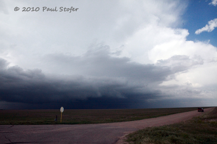 Storm Structure near Tribune, Kansas