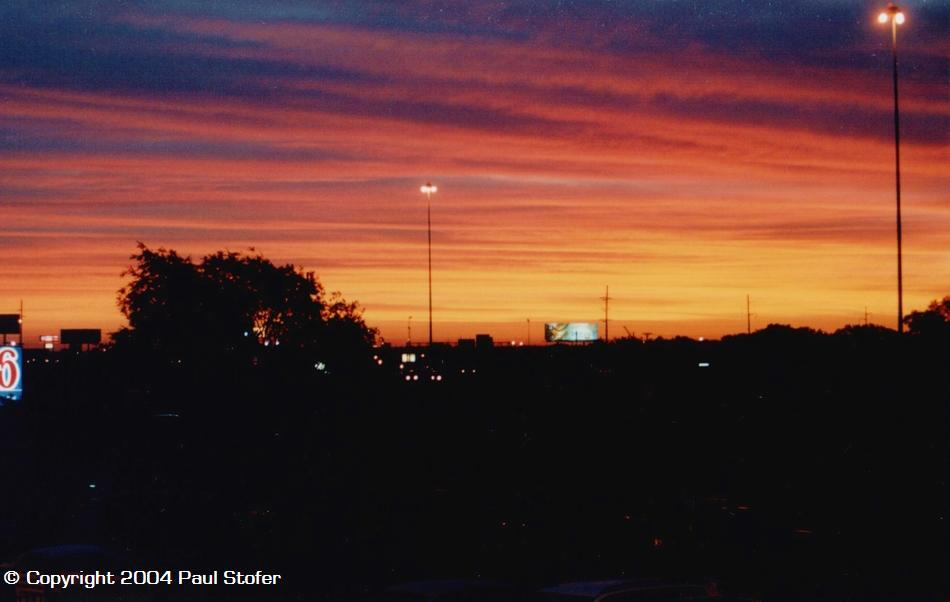 Tulsa Sunrise, May 29th, 2004