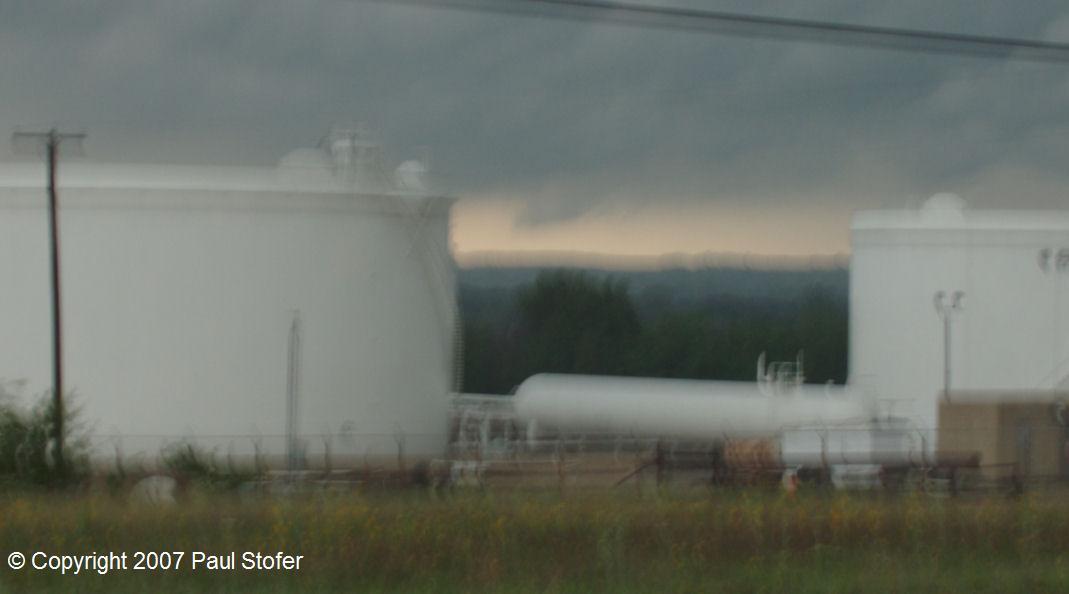 Tornado near Granbury, Texas