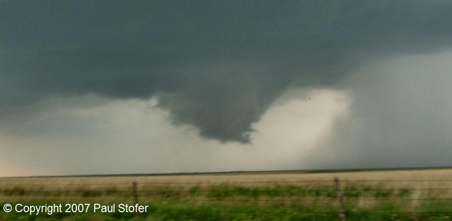Canadian, Texas developing tornado