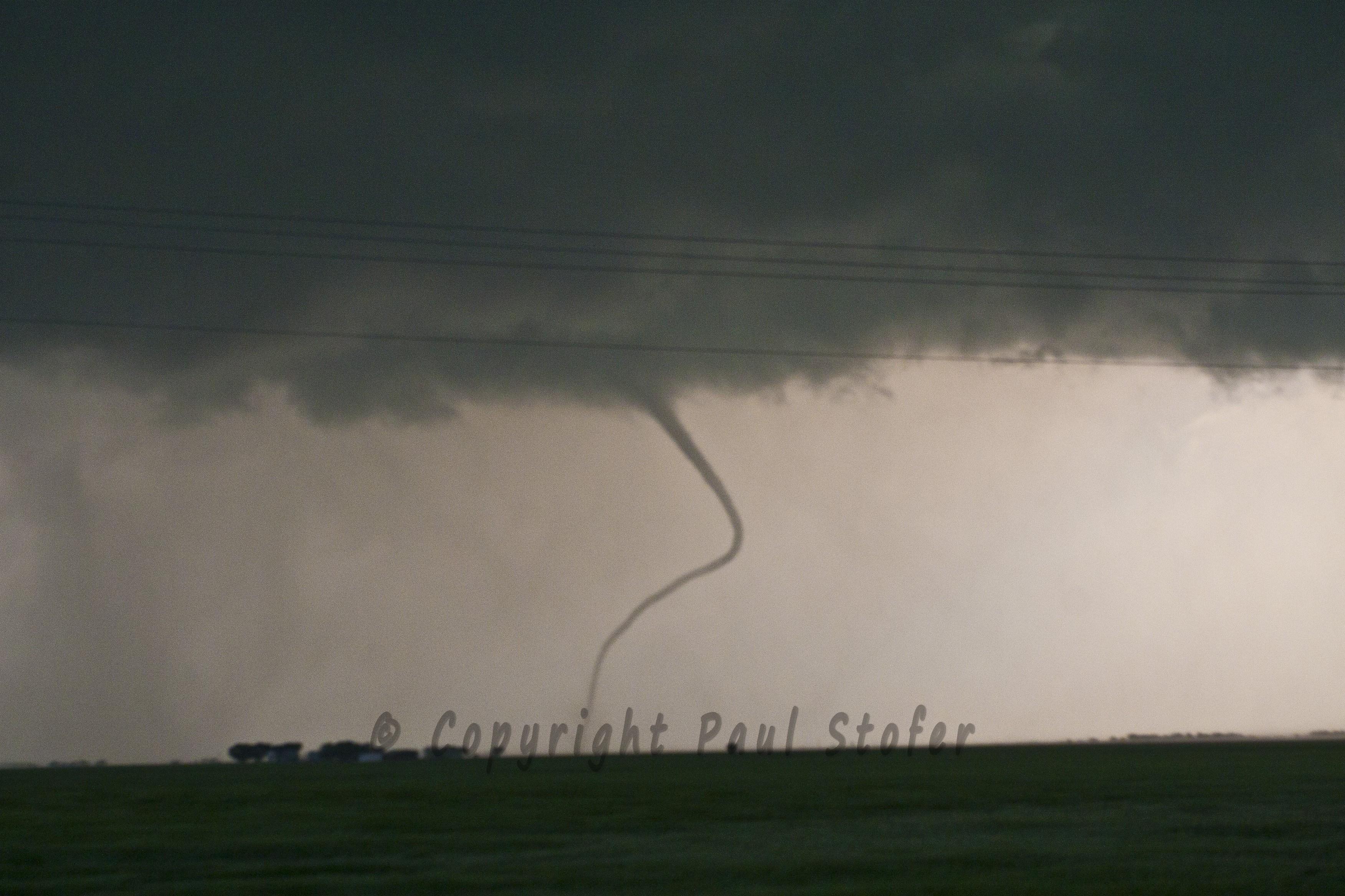 Cherokee, Oklahoma Tornado Rope Out